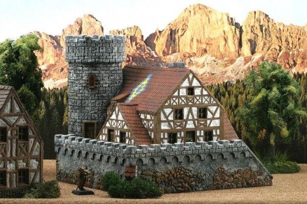 Ziterdes 25mm Terrain Unpainted Watchtower Dragonstone Dwarven Forge