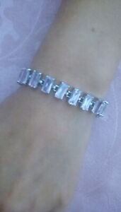 Bling-Cubic-Zirconia-Ladies-Bracelet