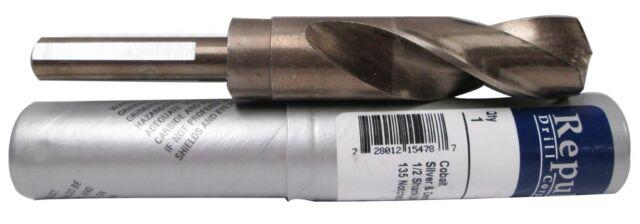 Drill Bits 61//64 1//2 Shank Cobalt Steel Silver /& Deming