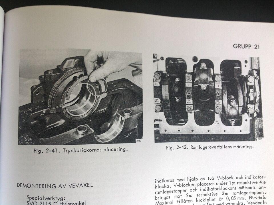 værkstedshåndbog BM 400 , BM VOLVO