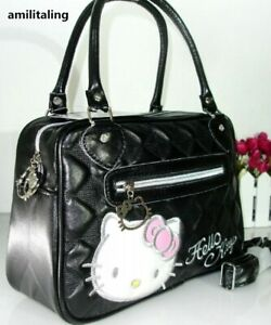 Hello-kitty-Hand-Bag-With-Shoulder-Strap-Purse-For-Girl-High-Quality-FREE-SHIP