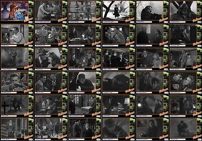 The Wolfman movie storyboard trading cards 1941 Horror Lon Chaney werewolf
