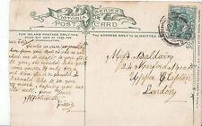 Genealogy Postcard - Family History - Baldwin - Upper Clapton - London   BS136