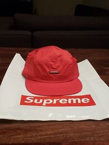 40796f29 Supreme Clear Patch Camp Cap Black FW18 2018 - NEW IN BAG (Rare Box ...