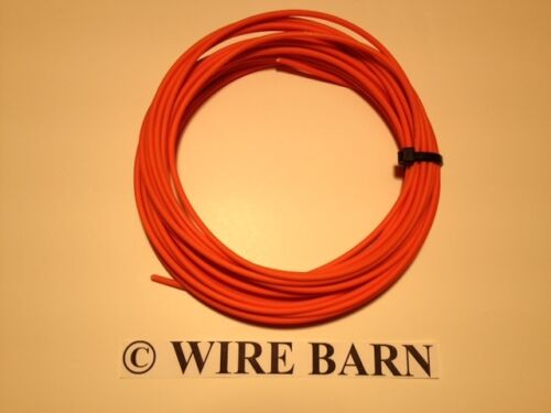 25/' EACH COLOR AUTOMOTIVE  WIRE 12 GAUGE -HIGH TEMP TXL WIRE 8 COLORS