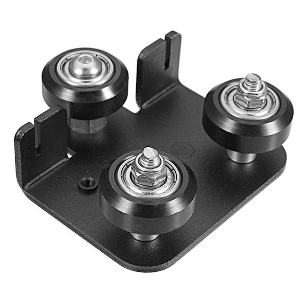 Creality X Carriage Plate Support Wheels Pulleys Ender 3 Pro CR10 3D Printer