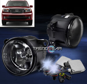 2012-2015 HONDA PILOT BUMPER DRIVING FOG LIGHTS LAMP CHROME W/8K HID KIT+ HARNESS | eBayeBay