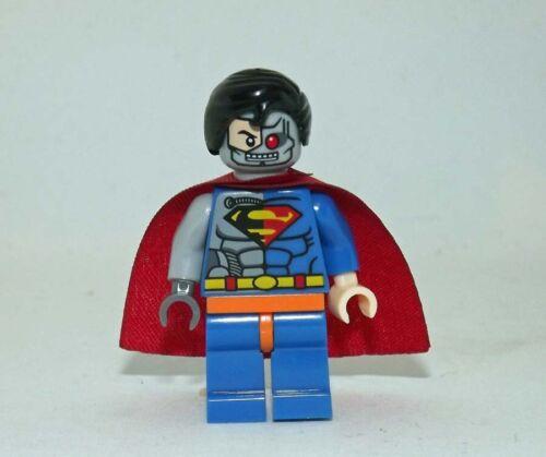 Superman  cyborg minifigure action movie DC Comic toy figure