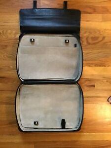 Montblanc Leather Luggage Overnight Weekender Bag