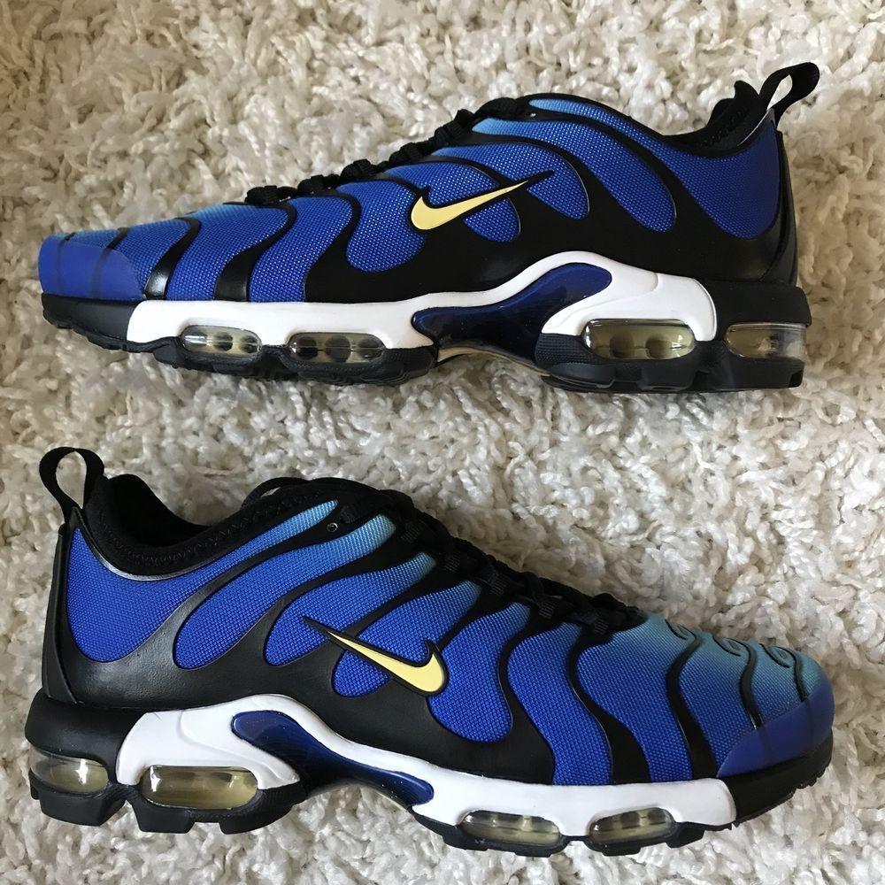 Uomo nike air max e ultra - scarpe nuove e iper - blue 898015-402 sku aa
