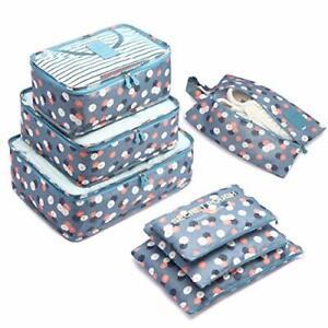 Organizzatori da Viaggio, Organizer Valigie Set di 7, Cubi di Imballaggio