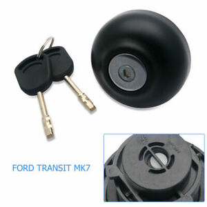 LOCKING-DIESEL-FUEL-CAP-INCLUDING-amp-2-KEYS-For-FORD-TRANSIT-MK7-2006-ON