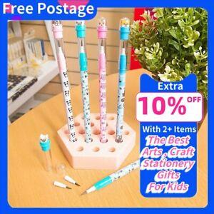 NEW-4x-Cute-HB-Multi-Point-Pencil-Pre-Sharpened-11-Leads-Kids-School-Gift-Pen
