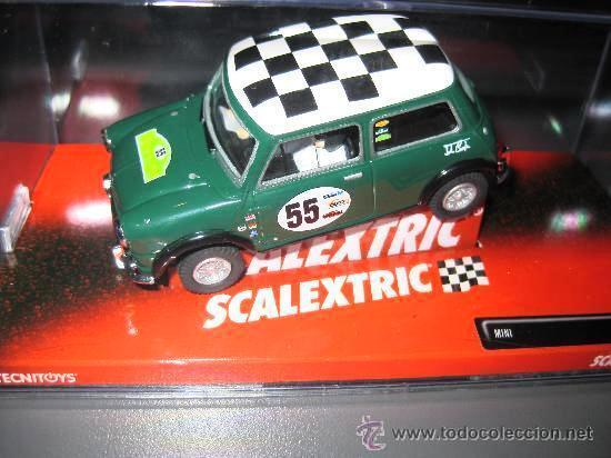 Mini grön No 55 1  32 - Scalcextric New Ref. 6396 (Tecnileksakes) Ny