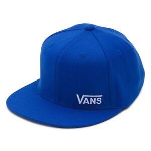 f3fc537db9c Image is loading VANS-SPLITZ-ROYAL-BLUE-FLEXFIT-CAP-HAT-S-M