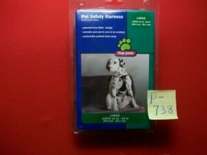 """BRAND NEW TOP PAW PET SAFETY HARNESS EASY RIDER DESIGN LARGE-GIRTH 24"""" TO 38"""""""
