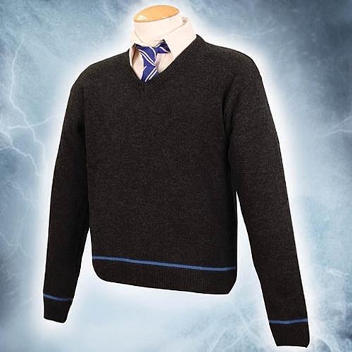 Licensed Hogwarts School House Sweater w//tie Harry Potter Museum Replicas