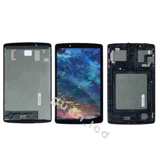FOR LG Pad 8 V495 V496 UK495 LCD Display Touch Glass Screen Digitizer Assy Frame