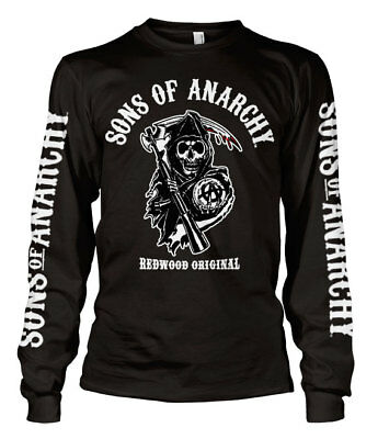 Sons of Anarchy SOA JAX PRESIDENT Licensed Adult Long Sleeve T-Shirt S-3XL