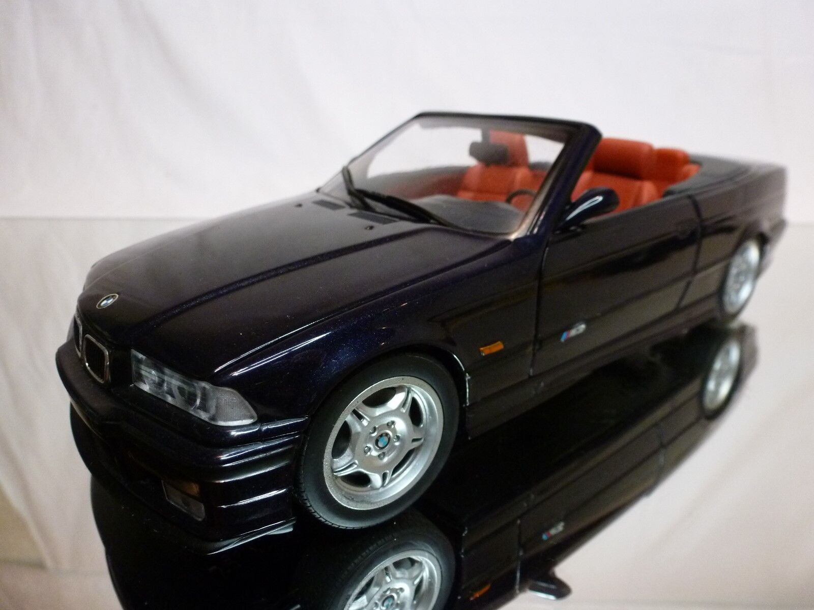 UT MODELS 1 18 - BMW M3 E36 CABRIOLET  - DAYTONA VIOLET - EXCELLENT CONDITION.