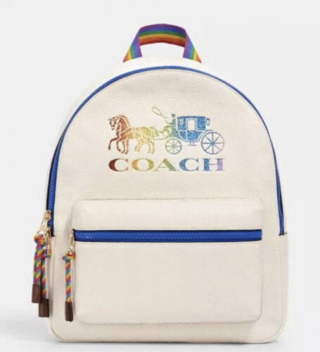 Coach Rainbow Backpack