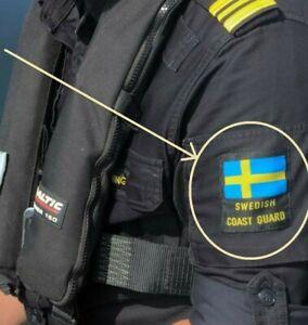 Suédois Civil Government Agence Kustbevakningen Patch : Suédois Coast Guard