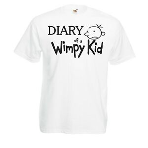 ea6b59573 Wimpy Kids World Book Day Support Diary T-shirt outfit Kids funny ...