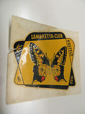 Original Lambretta Club Of  KREFELD Souvenir Club / Rally Waterslide  From 1952