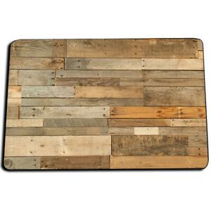 Details About Light Brown White Colors Wood Floor Planks Boards Design Indoor Rug Door Mat