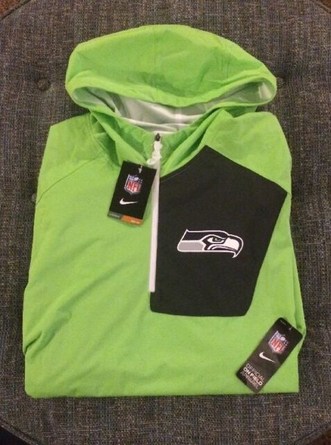 the best attitude 9037e c45da Nike Onfield Apparel Seattle Seahawks Pullover Size 2xl Stay Dry A2