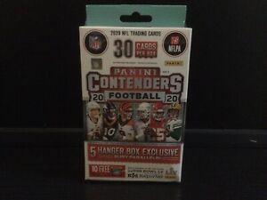 2020 Panini Contenders Football Hanger Box Herbert Burrow Tua Hurts Rookie 🔥☘️