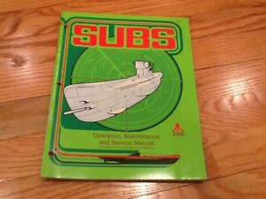 Subs-Video-Arcade-Game-Operation-Maintenance-and-Service-Manual-Atari-1977