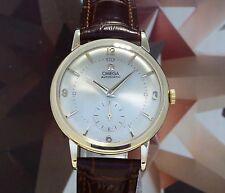 Vintage 1953 Men's Omega Bumper Automatic Wristwatch 17 Jewels One Year Warranty