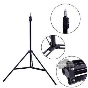 7ft Pho Flash Light Stand Foldable Tripod For Photo Studio Video Lighting Kit