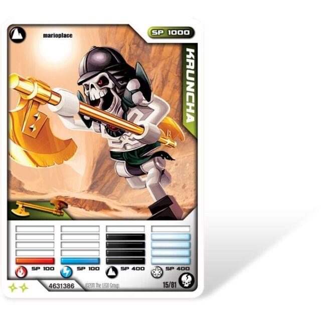 LEGO Ninjago Trading Card - Kruncha Set 2174 NEW