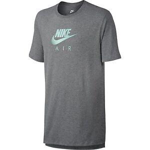 534c635d Nike Sportswear Heritage Men's Short Sleeve T-Shirt Grey Heather ...