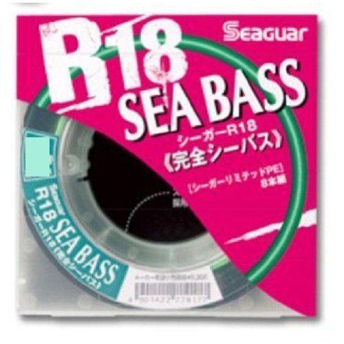KUREHA Seaguar R18 Full Sea Bass 200m Fishing LINE From JAPAN