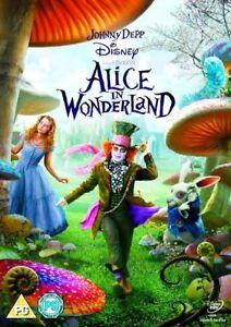 Alice-in-Wonderland-Johnny-Depp-Tim-Burton-Disney-Region-4-DVD-New