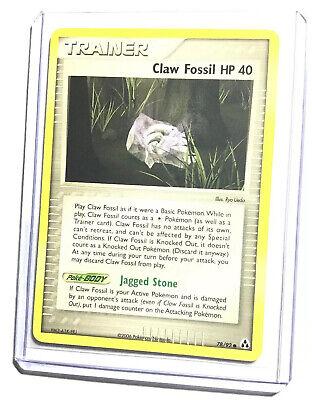 Common 80//92 NM Pokemon Card EX Legend Maker ROOT FOSSIL