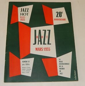 JAZZ-HOT-Mars-1955-20eme-Anniversaire-Open-Door-BAKER-MILEY-SPROTT