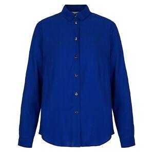 Yumi-Blue-Long-Sleeve-Shirt-Ladies-UK-Size-14-Box65-20-K