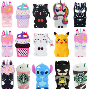 3D-Unicorn-Cat-Silicone-Phone-Case-For-iPhone-X-XS-Max-XR-SE-4-5-6-7-8-Touch-5-6