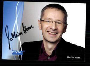 Matthias Haase Autogrammkarte Original Signiert # BC 121580 - Niederlauer, Deutschland - Matthias Haase Autogrammkarte Original Signiert # BC 121580 - Niederlauer, Deutschland