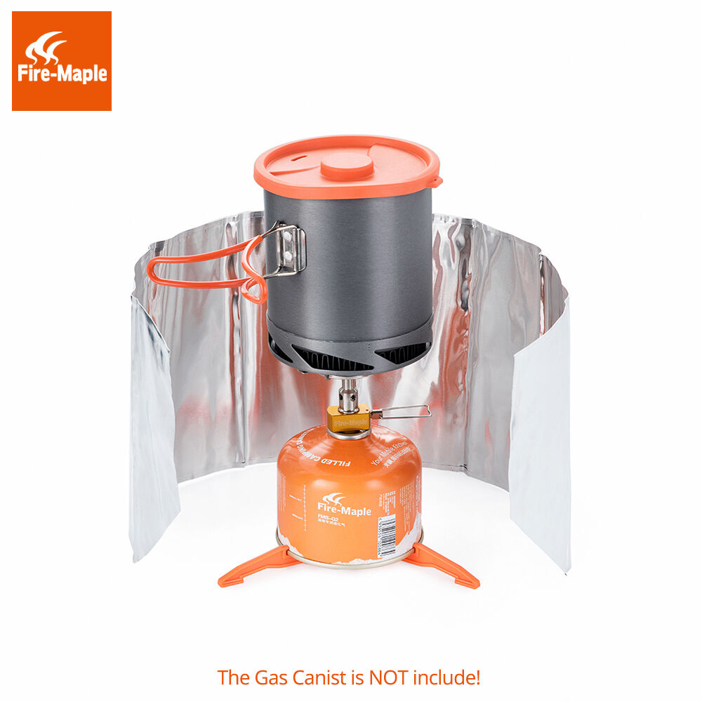 Fire  Maple FMS-AE1 Cooking System Gas Stove Burner windshield Pot Set 3000W 1L  top brand