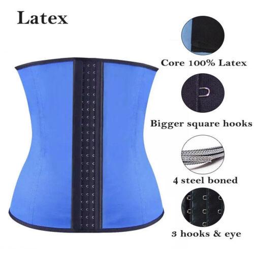 Fajas Reductoras Body Shaper Waist Trainer Cincher Slim Shapewear LATEX Girdle