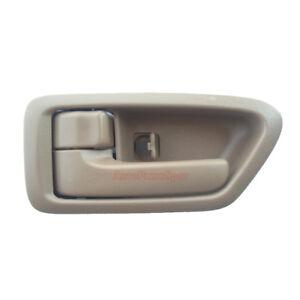 For 97-01 Toyota Camry Inside Inner Front Rear Left Right Side Beige Door Handle
