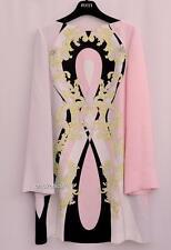 Vestido Estampado de Seda EMILIO PUCCI UK14 IT46 RRP1799GBP Nuevo
