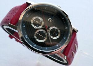 Mercedes-Benz-AMG-DTM-Motorsport-Racing-Sport-Car-Accessory-Chronograph-Watch
