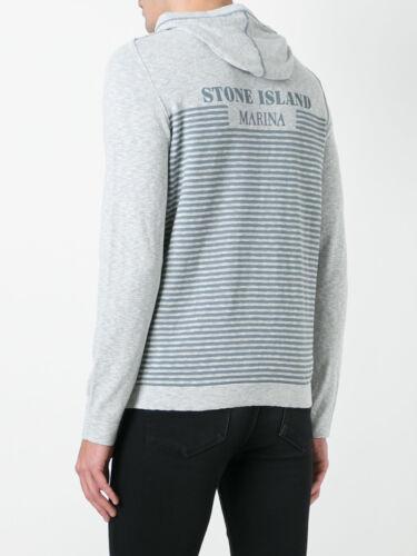 Grey Knit Island Stone Marina In Cardigan Pearl Bnwt Hooded BASTq0