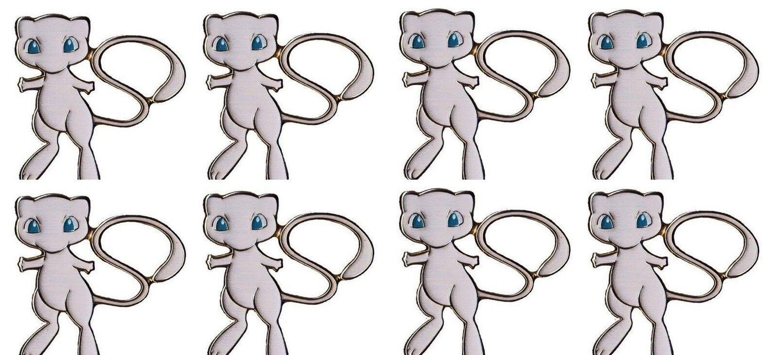 30 x New Myth Collection pokemon tcgo Pins Mint